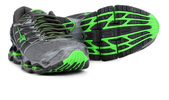 Tênis Mizuno Wave Prophecy Pro 7 6 5 8 Refletivo 2019 Outlet