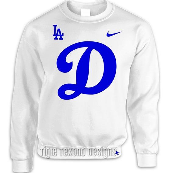 Sudadera Básica Dodgers Los Angeles Mod G (tigre Texano D.)