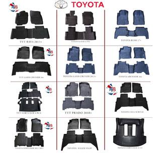 Alfombra De Bandeja Toyota Land Cruiser 2013 Up