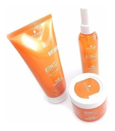 Schwarzkopf Sun Protect Kit Tratamiento Hidratante De Verano