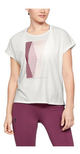 Remera Under Armour Graphic Entwined Mujer