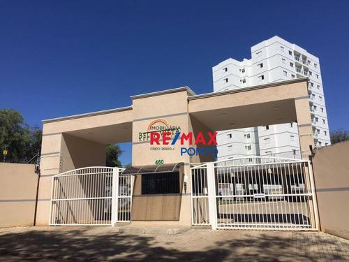 Apartamento Com 2 Dormitórios Para Alugar, 68 M² Por R$ 800,00/mês - Planalto Bela Vista - Mogi Mirim/sp - Ap0104