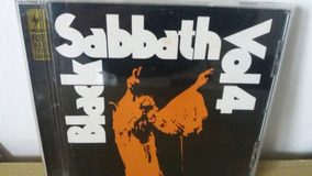 Cd - Black Sabbath- Vol. 4
