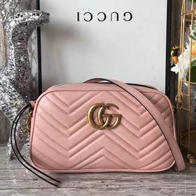 d208c4fba Bolsa Gucci Redonda - Bolsas Femininas Rosa no Mercado Livre Brasil