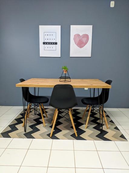 Mesa De Jantar 80 Cm X 120 Cm Antiqua - Sem Cadeiras