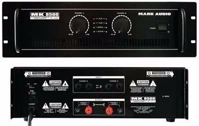 Amplificador Potência Mark Audio Mk-6200 1200w