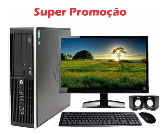 Computador Hp Slim Core I5 4gb Hd 500 Dvd Monitor 18,5 Wifi