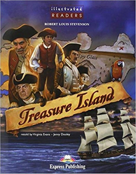 Treasure Island Illustrated - Book With Cd