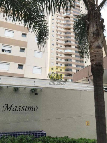 Apartamento Com 3 Dormitórios À Venda, 98 M² Por R$ 649.000 - Centro - Guarulhos/sp - Ap2513