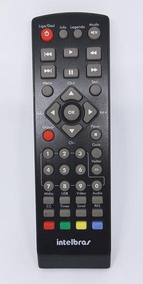 Controle Remoto Do Conversor Tv Digital Intelbras Cd636 Nova