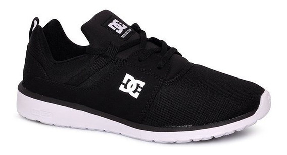 Tênis Dc Shoes Heathrow Adys700071 Preto/branco