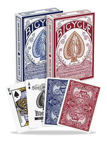 Cartas Bicycle Autobike - Baraja Poker Magia - Excelentes!