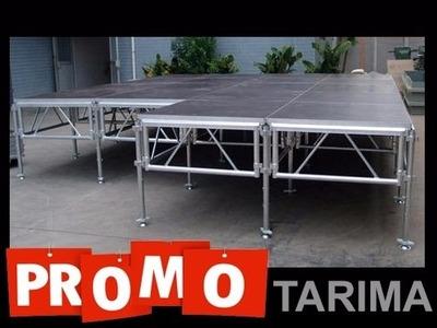 Alquiler De Tarima Truss Iluminación Beam Led Line Array