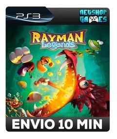 Rayman Legends - Português - Psn Ps3 - Oferta Pronta Entrega