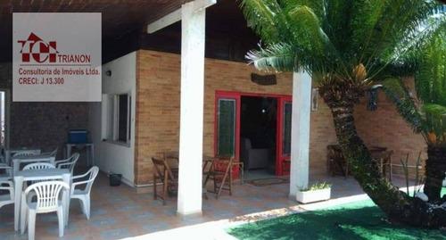 Imagem 1 de 30 de Pousada À Venda, 490 M² Por R$ 730.000,00 - Jardim Itanhaém - Itanhaém/sp - Po0001