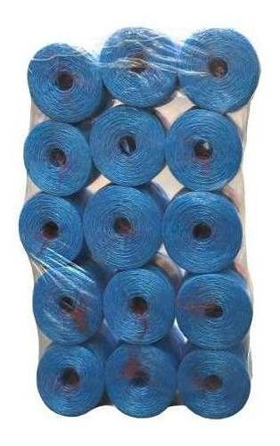 15 Kg De Cordel Azul En Bobinas De 1 Kg