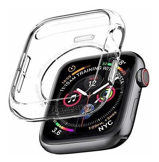 Spigen - Carcasa De Cristal Líquido Para Apple Watch (44 Mm,