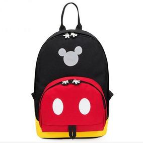 3a82b09433 Mochila Escolar Moda Menino Menina Mickey Disney Personagem