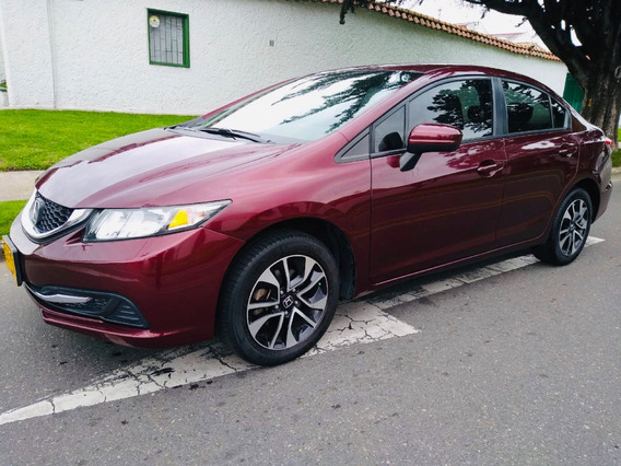 Honda Civic Ex Automático Perfecto Estado 2015