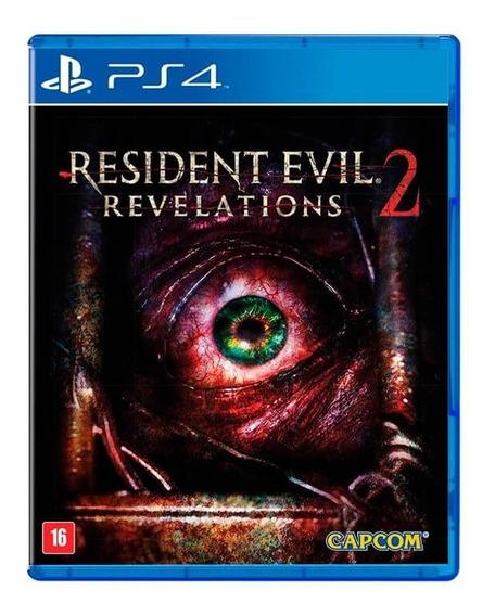 Jogo Resident Evil Revelations 2 Ps4 Mídia Física Usado