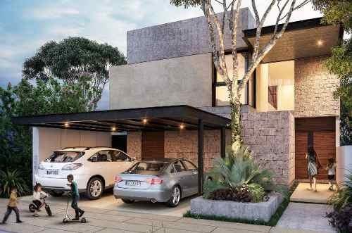 Hermosas Casas Con Alberca En Exclusiva Privada En El Norte De Mérida