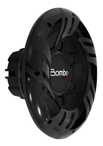 Subwoofer Bomber 12 Pulgadas 500w Carbon 4 Ohms Bobina Doble