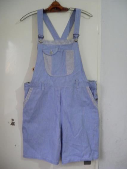 Pantalon Enterito Jardinero Corto C96 Cd100 M Regalo