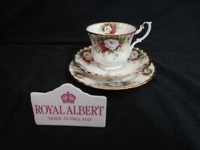 Royal Albert Trio Xícara De Chá Celebration - England