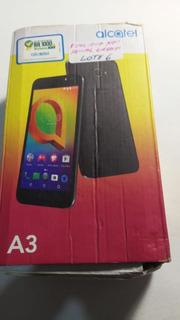 Celular Alcatel A3 5046j Preto Usado Trincado Leiam Anuncio