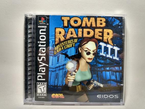 Tomb Raider 3 Original Americano - Ps1 - Playstation 1