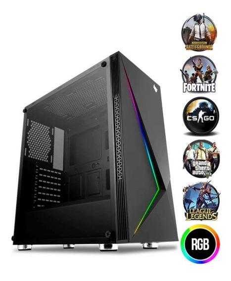 Pc Gamer Amd Ryzen / Athlon 3000g 8gb Hd 1tb Fonte 600w
