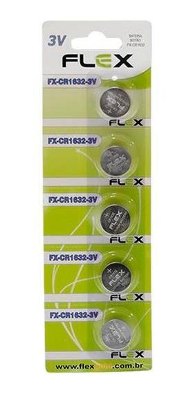 Bateria De Lítio Cr1632 3v Blister Com 5 Un
