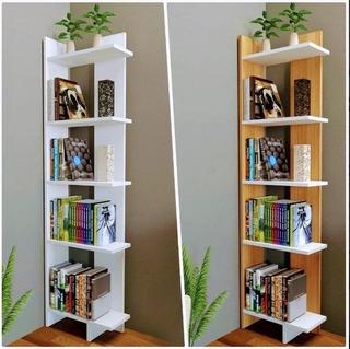 Biblioteca Esquinero Moderno Minimalista
