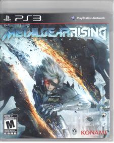 Metal Gear Rising Ps3 Original Mídia Física Lacrado