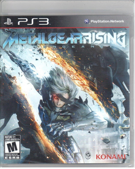 Metal Gear Rising Ps3 Original Mídia Física Lacrado