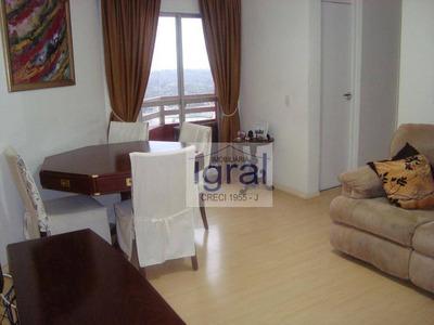 Apartamento Com 2 Dormitórios À Venda, 53 M² Por R$ 399.000 - Vila Do Encontro - São Paulo/sp - Ap0388