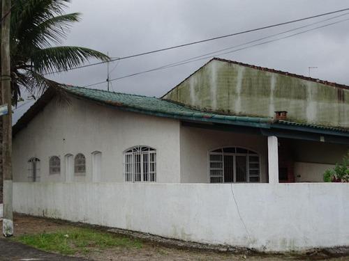 Casa Residencial À Venda Para A Família Desfrutar De Mongaguá - Ca0466