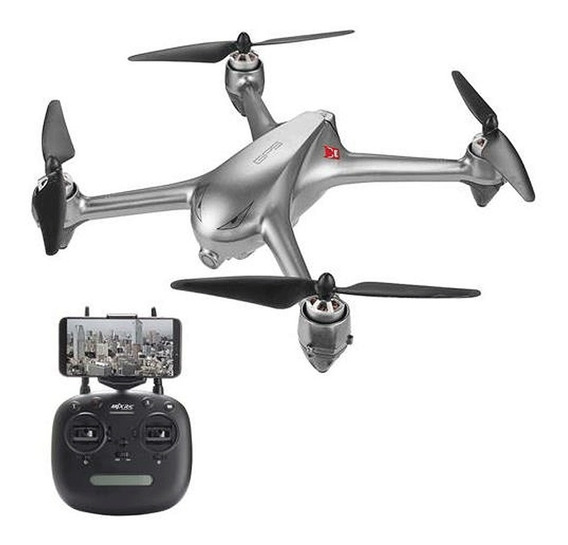 Drone Mjx Bugs B2wse 2 Baterias Brushless Gps Câmera Hd Fpv