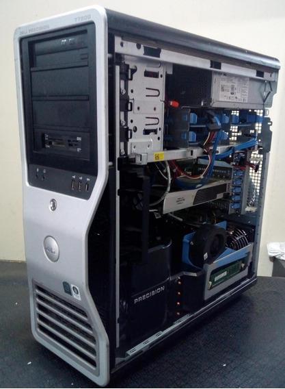 Workstation Dell Precision T7500. 2 Xeon X5560.16 Gb Memoria