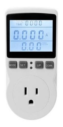 Vatímetro Medidor Consumo Energia Electrica. Ahorro