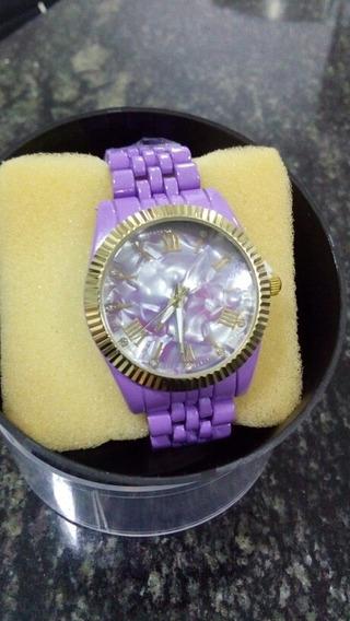 Relógio Feminino Lilás