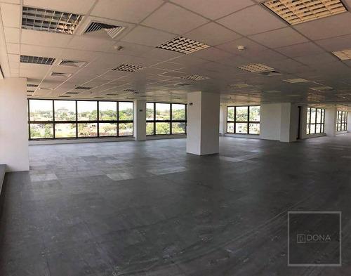 Imagem 1 de 8 de Andar Corporativo, Laje, Sala, 157,86 M², 5 Vagas, Piso Elevado, Norte Sul, José De Souza Campos, Cambui, Campinas. - Ac0013