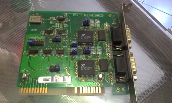 Tarjeta Puerto Serial Com1 Y Com2... Configurable.. Usada