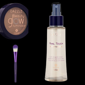 Presente Maquiagem Hinode: Iluminador + Pincél + Finalizador