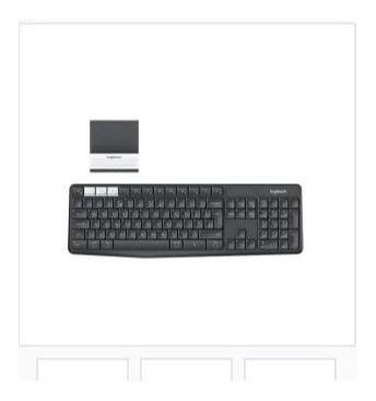 Teclado Bluetooth K375s Para Pc/tablet/smartphone Preto