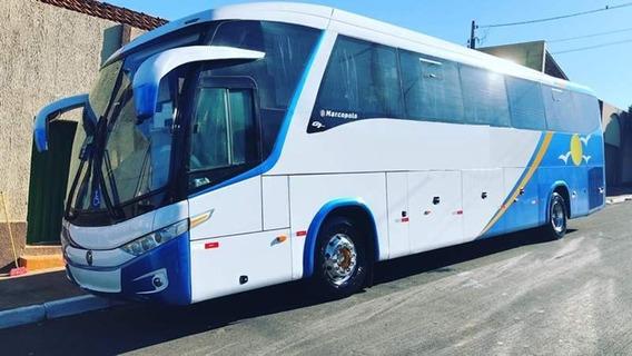 Ônibus Paradiso 1200 G7 Scania K 310 Leito Motor Novo