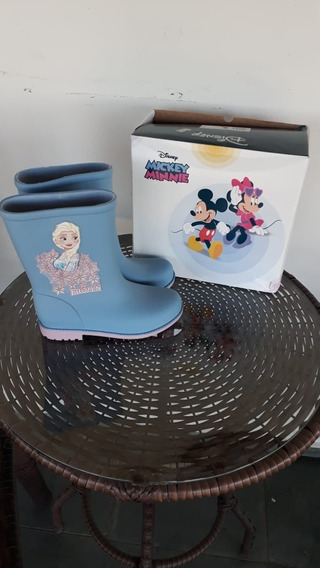 Galocha Infantil Menina Disney Frozen
