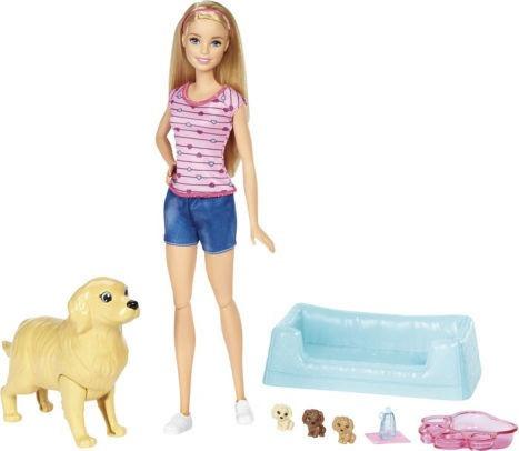 Barbie Familia Filhotinhos Recem Nascidos Fbn17