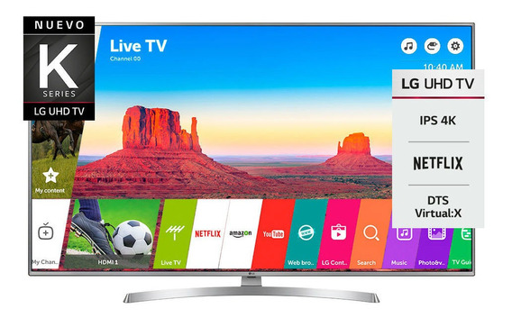 Smart Tv 4k 55 Lg 55uk6550psb