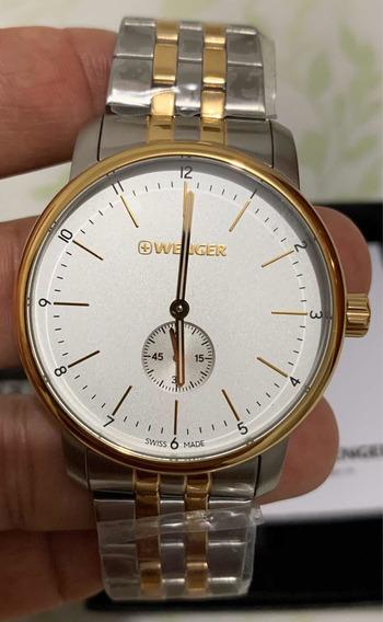 Relógio Wenger Urban Classic Suíço 42mm 01.1741.125 Novo
